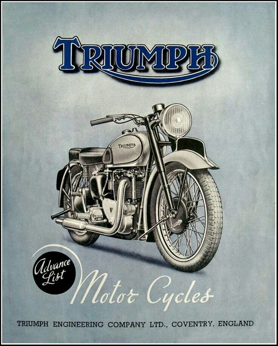 #Triumph #illustration #motorcycles |