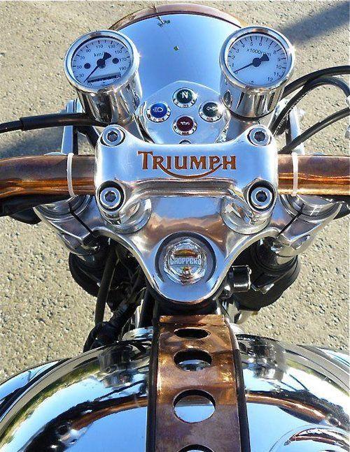 Triumph Motorcycle.