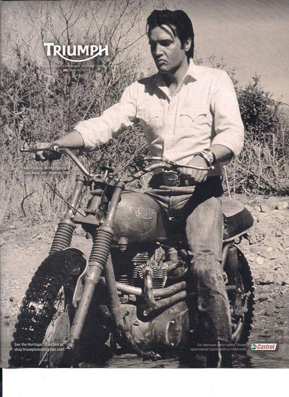#Triumph Motorcycles#Elvis