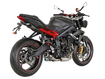 TRIUMPH STREET TRIPLE 675 2013 EXHAUST
