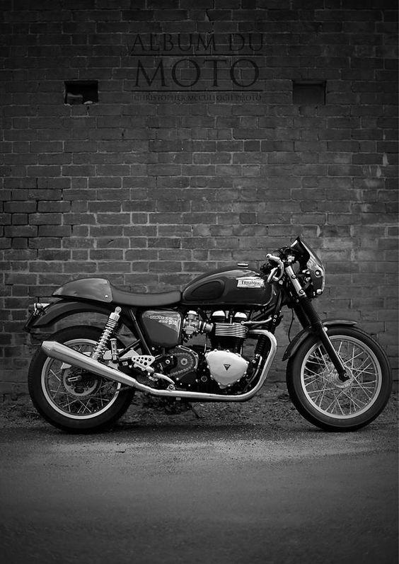 Triumph Thruxton - Album Du Moto - Bathurst Motorcycle Photography