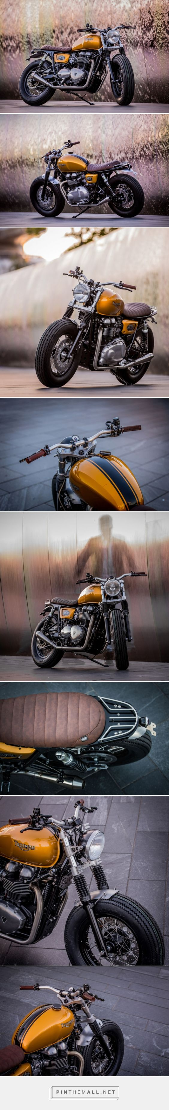 Triumph Thruxton by Down & Out Cafe Racers | Bike EXIF - created via