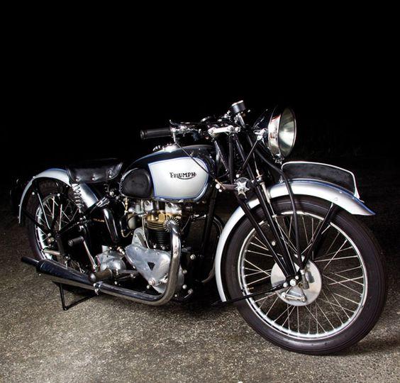 Triumph Tiger 100 GP 1939