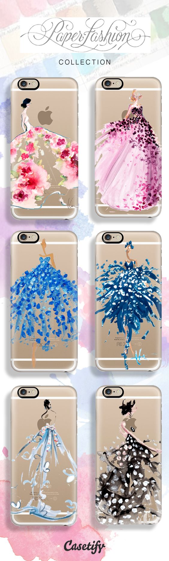 True Beauty. Shop @Katie Rodgers | Paper Fashion x @Casetify phone case collection here: