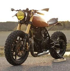 TUX CUSTOMS Cafe Cross based around a 1987 Honda XL 600R (via the Bike Shed)