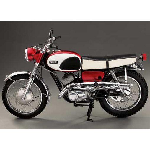 Two-Stroke Scramble: 1968 Yamaha Big Bear - Classic Japanese Motorcycles - Motorcycle Classics