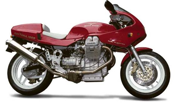 Under The Radar: Moto Guzzi Daytona 1000 - Classic Italian Motorcycles - Motorcycle Classics