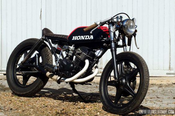 Une Honda CB 125 Twin cafe-racer, à la sauce Vini Garage