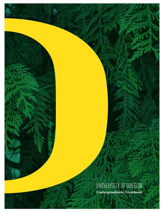 University of Oregon Viewbook 2015-16