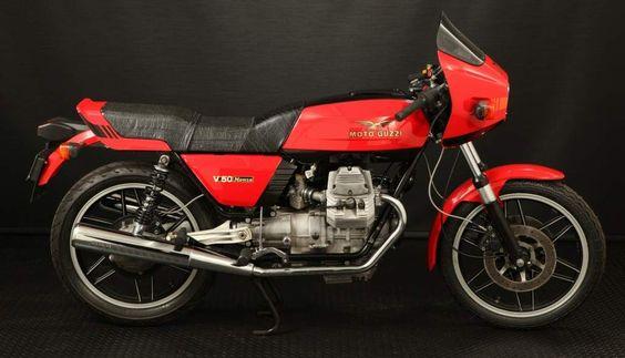V 50 Monza, 1980-1981