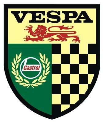 VESPA Retro Castrol Scooter Sticker | eBay £