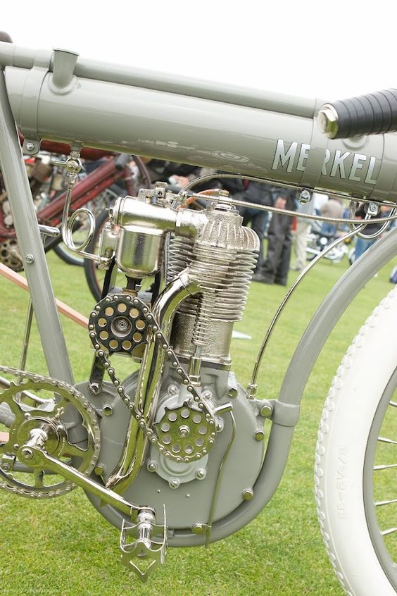 Vintage Flying Merkel Antique Motorcycle