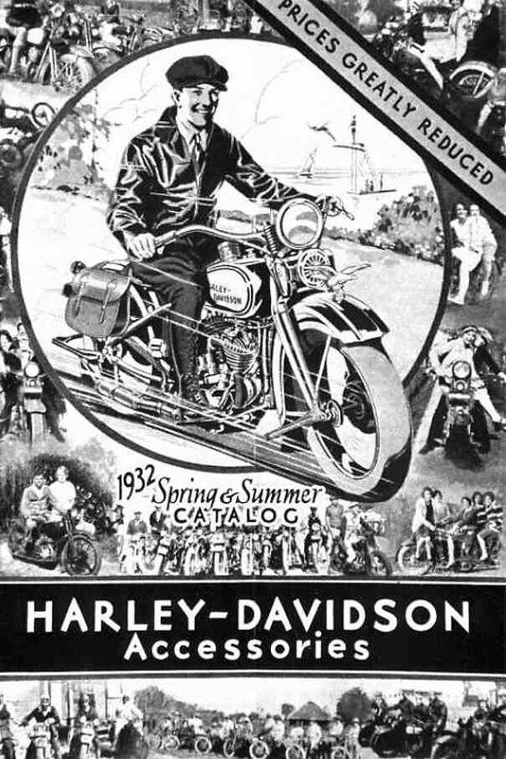 Vintage Harley Davidson Ad