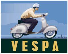 Vintage Vespa Ad