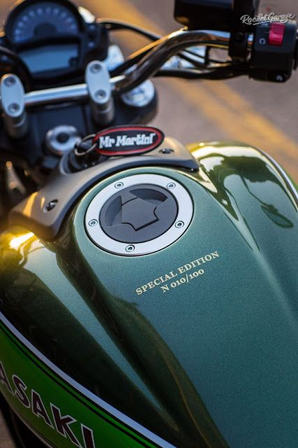 Vulcan 70 by Mr Martini - RocketGarage Cafe Racer