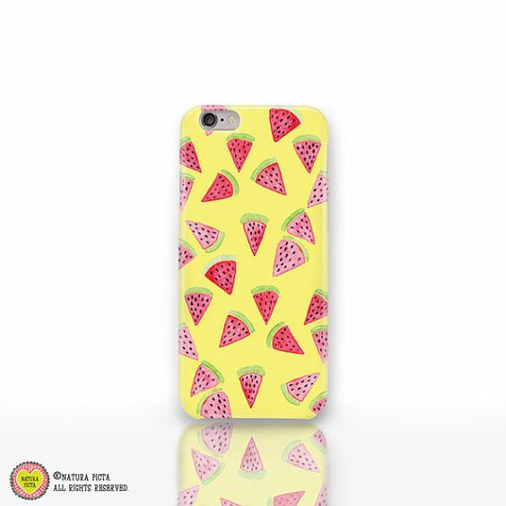 Watermelon iPhone 6/6s case-watermelon phone by naturapicta