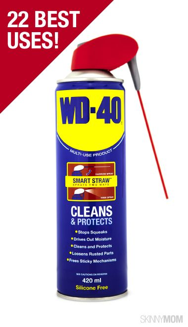 WD-40 is the best household hack!