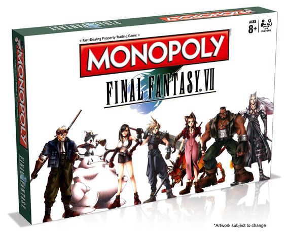 We've hit peak Square: Final Fantasy VII Monopoly announced: Square's marketing machine knows no bounds. If it's Final Fantasyrelated…