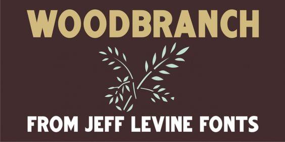 Woodbranch JNL font download