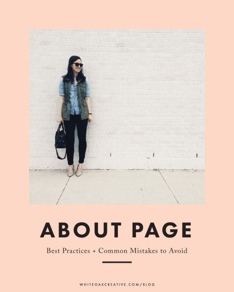 Writing an About Page