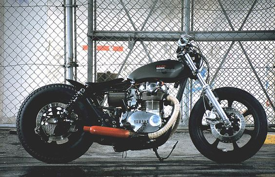 XS650 Yamaha custom motorcycle An-Bu