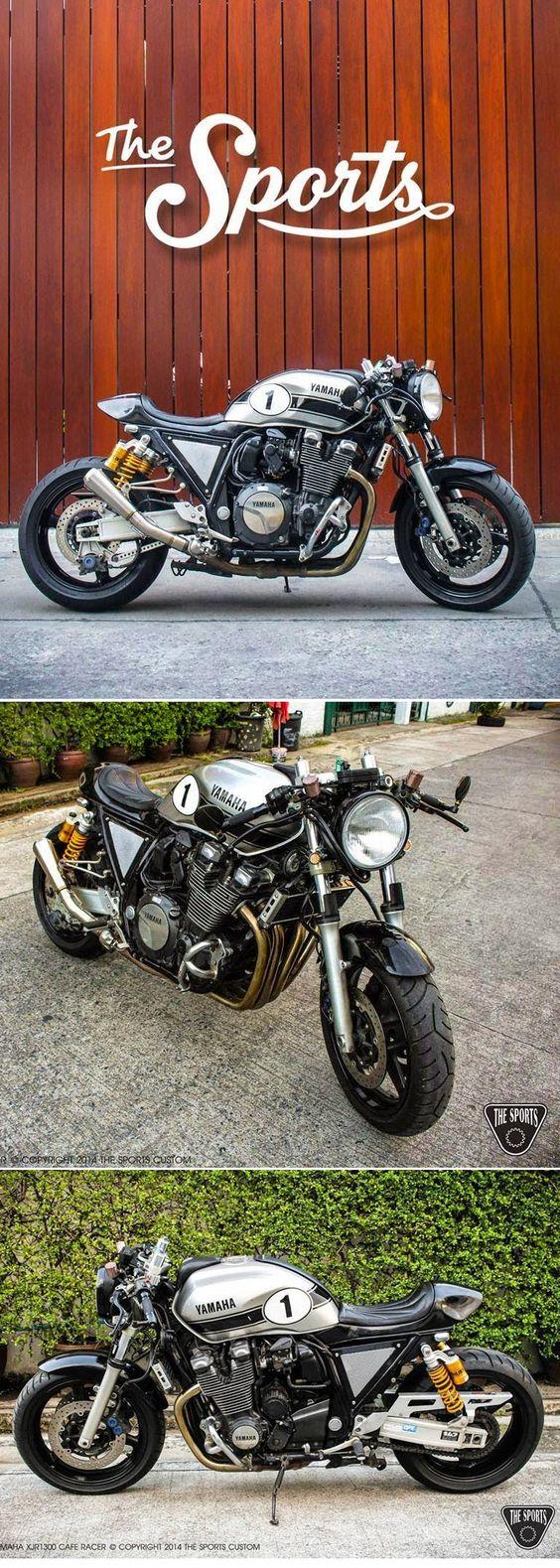 Yamaha Cafe Racer by The Sports Custom based on a Yamaha XJR1300