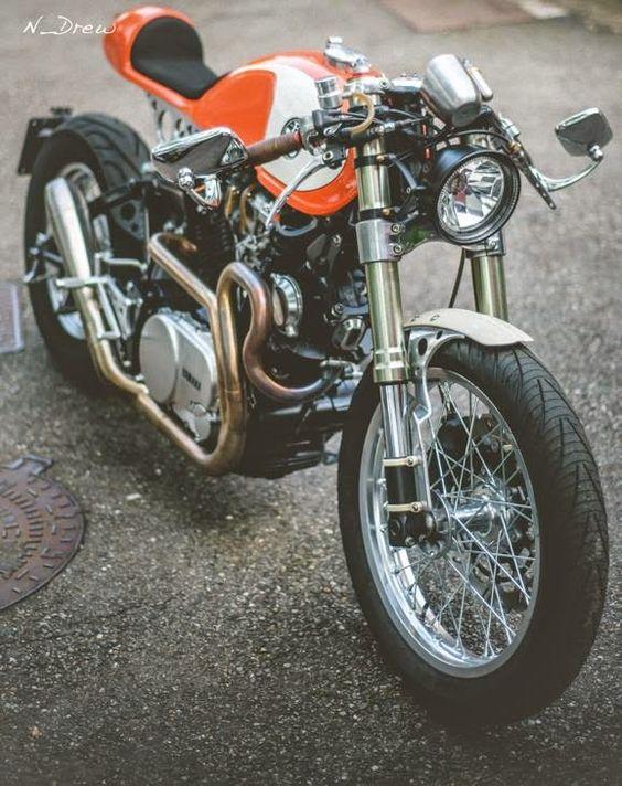 #Yamaha #caferacer #motorcycle #EatSleepRIDE