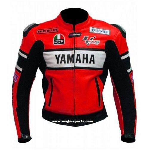 Yamaha  red racer Leather Jacket