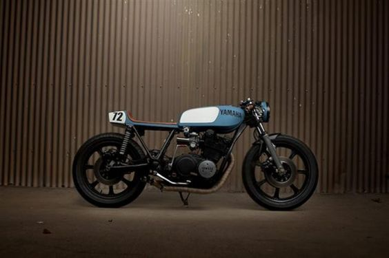 YAMAHA SX750 Cafe Racer by Ugly Motor Bikes — ANCHOR DIVISION