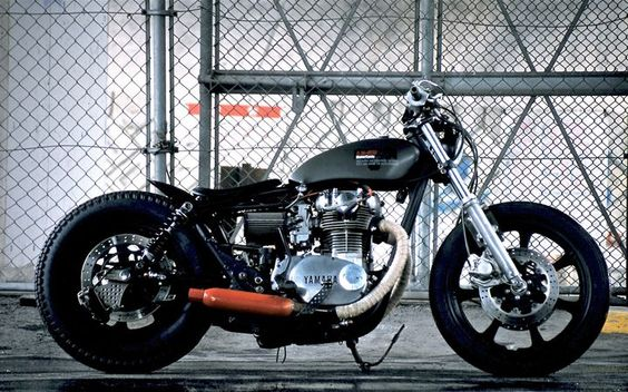 Yamaha XS650 Bobber Balle by An-Bu Custom Motors
