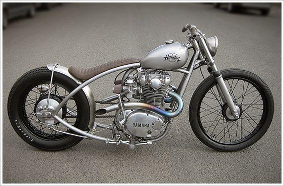 Yamaha XS650 – Holiday Customs - Pipeburn - Purveyors of Classic Motorcycles, Cafe Racers & Custom motorbikes