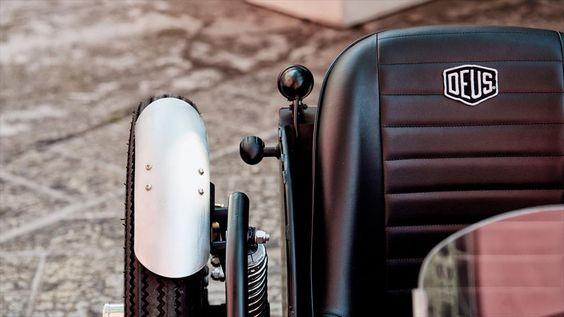 Yamaha XV950 D-Side Custom Surf Sidecar Is La Belle Epoque Quintessence