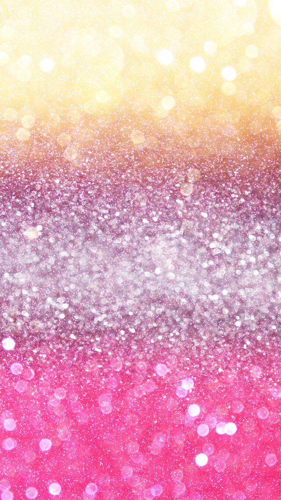 Yellow, Purple & Pink Sparkles