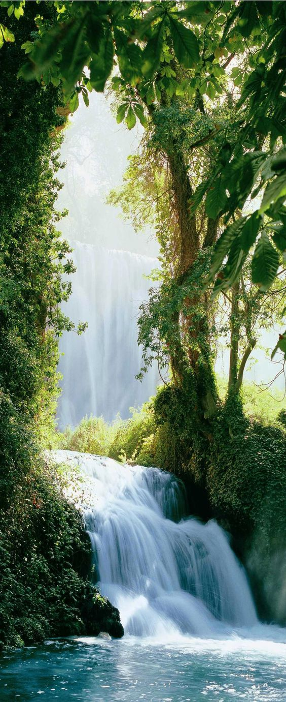 ✿ ❤ Zaragoza Falls, Waterfall in the Pyrenees