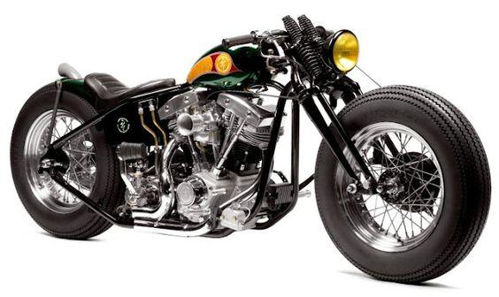 Zero Engineering Iron Man Bike, a modified Type 6 Original Samurai Chopper