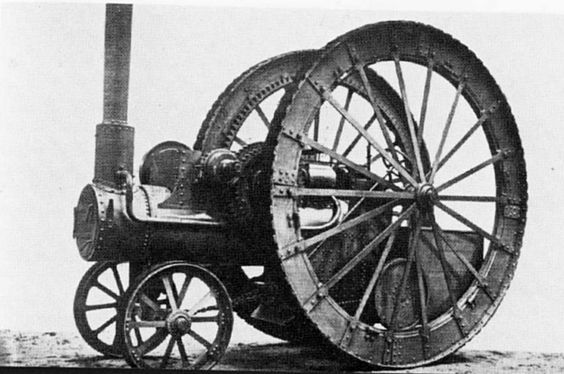 1877 Fowler with 12 foot wheels.