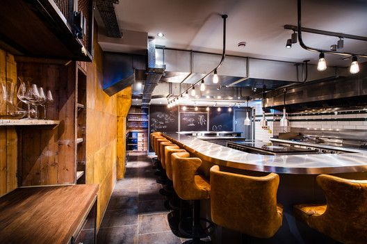2013 Restaurant & Bar Design Award Winners,&Kitchen Table – Bubbledogs / B3 Designers. Image