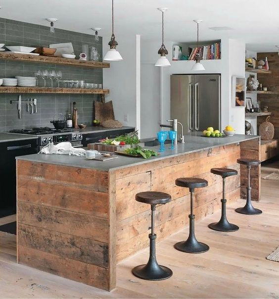 4 Chic Kitchen Design Tips from Love Chic Living - update your kitchen for the new year with these easy design suggestions.