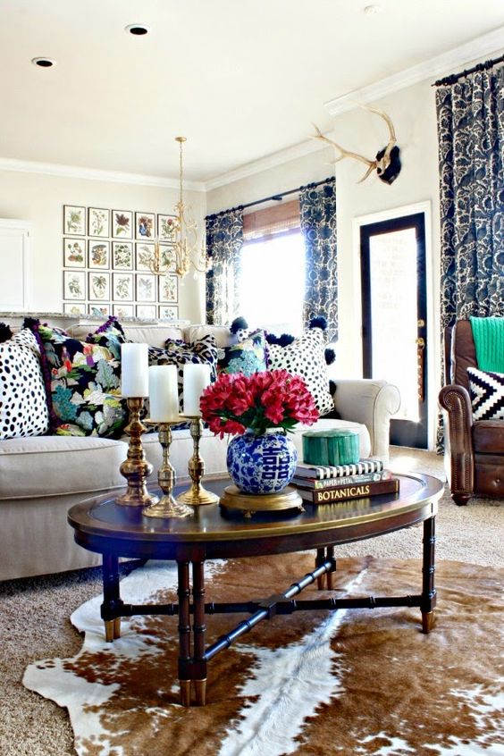 7 Perfectly Preppy Eclectic Decorated Rooms