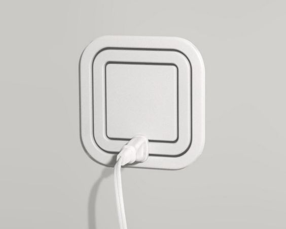 A 360-degree electrical outlet. | 19 Insanely Clever Products That Prove We're Living In The Future