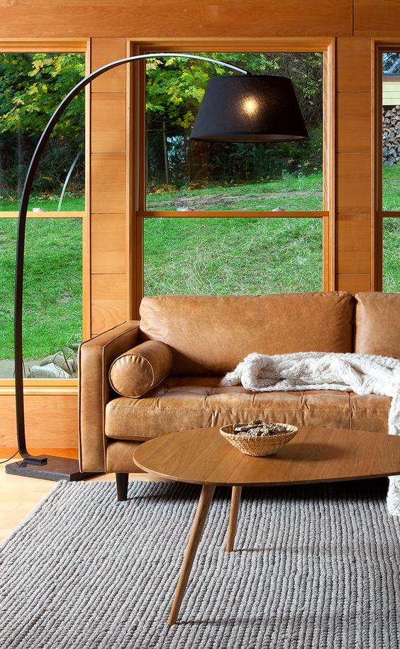 A warm retreat.   SVEN sofa AMOEBA coffee table ALAYA rug WILLO lamp (coming soon!)