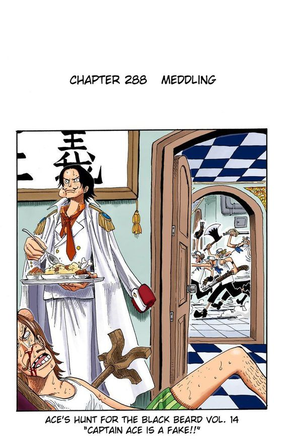 Ace's hunt for Blackbeard vol. 14 | One Piece 288