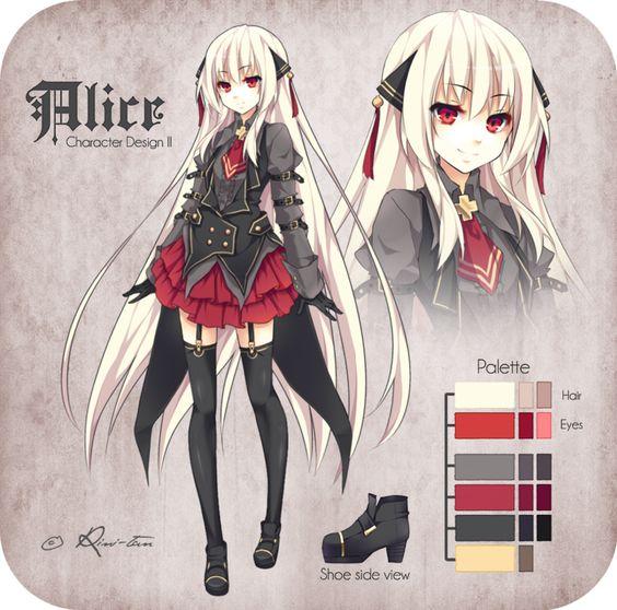 Alice Character Design II by Rini-tan