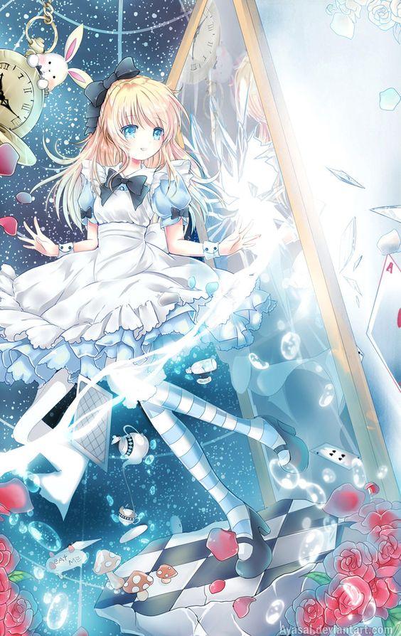 #aliceinwonderland #anime