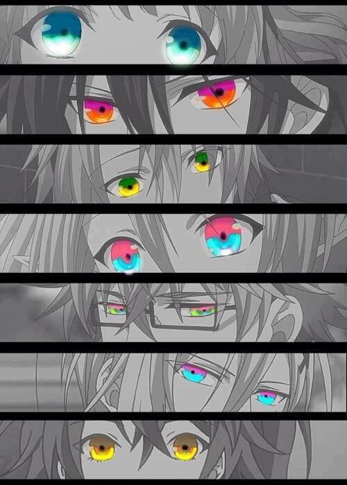 amnesia #anime I love their eyes!! ♥