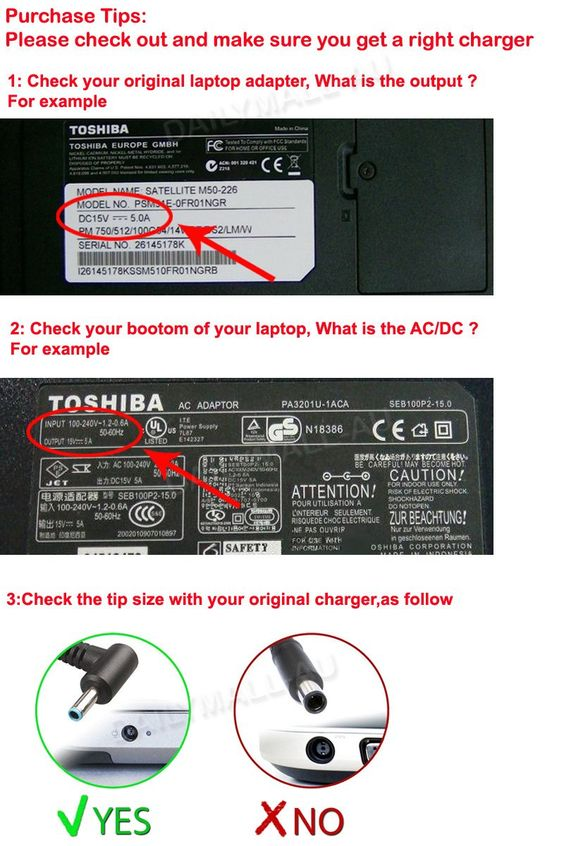 An AC adapter/Laptop Charger is an external power supply used with devices that run on batteries or have no other power source. Laptop AC adapters help reduce the size of a laptop computer by alleviating the need for a standard sized power supply. As shown in the image, an AC adapter is made up of a …