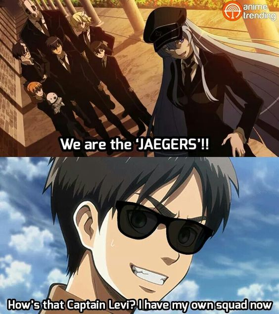And finally Eren got his own squad -