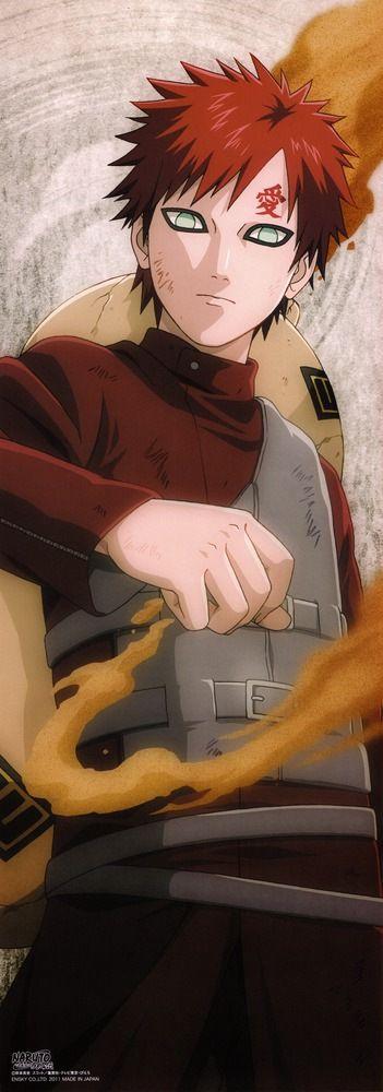 Anime 'crush' Gaara from Naruto/Naruto Shippuden  351×1000 pixels