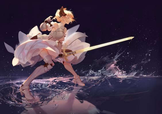 ☆ #AnimeTime ☆ [Type-Moon] Saber Lily from Fate/stay night | Ask