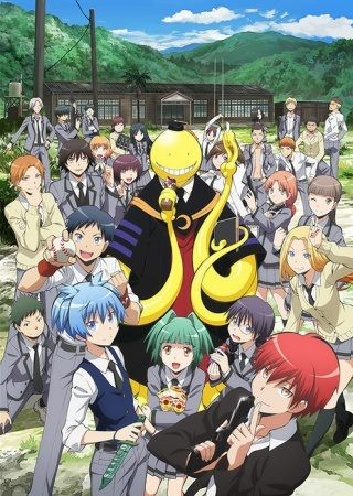 Ansatsu Kyoushitsu (aka Assassin Classroom): A humorous anime about a classroom full of misfits trying to assassinate their teacher.